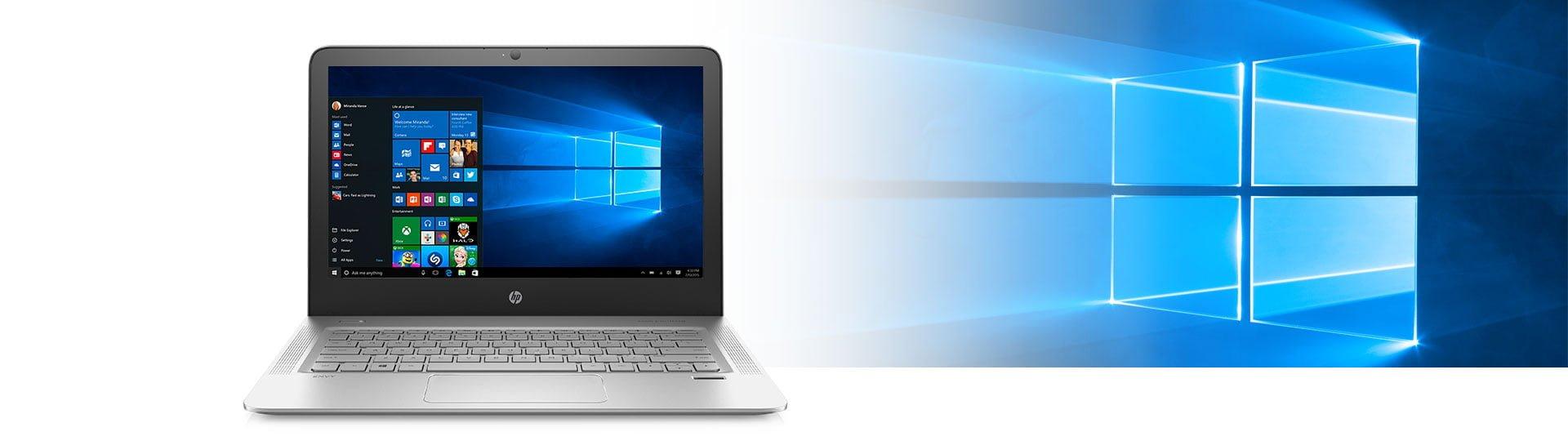 HP Envy 13 Skylake 2015 Windows 10