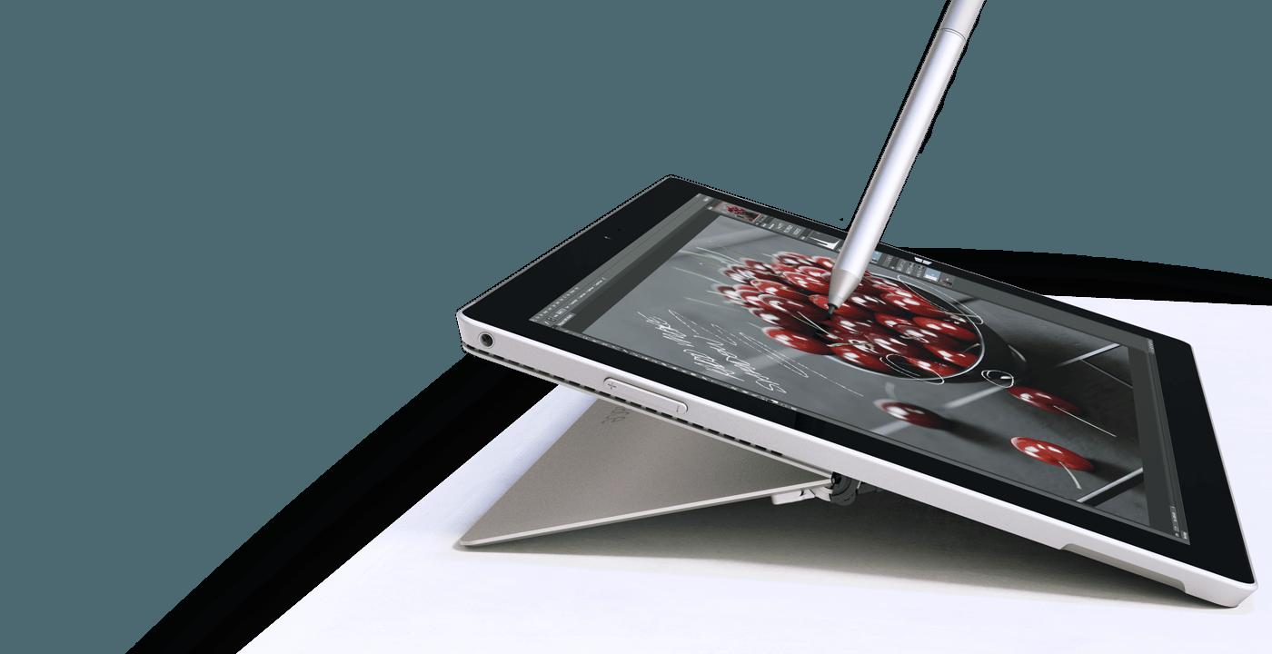 Sử dụng bút cảm ứng trên Surface Pro 3
