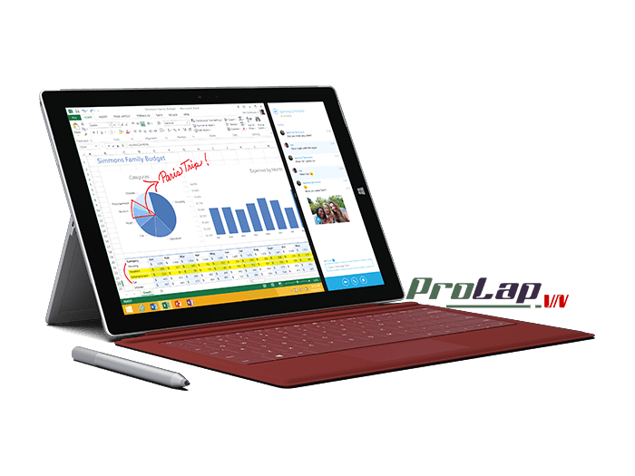 Surface Pro 3 Type Cover mau Do